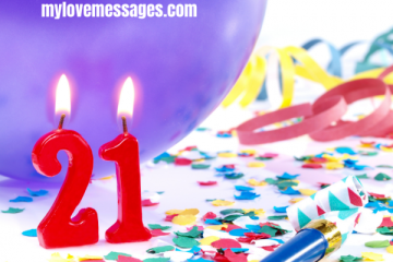 21st Birthday Picture Captions