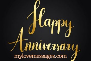 Wedding Anniversary Caption for Wife