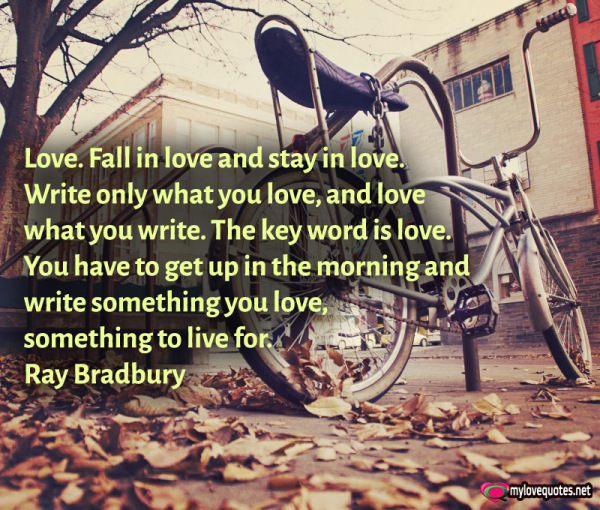 love fall in love and stay in love