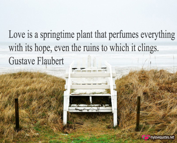 love is a springtime plant that perfumes