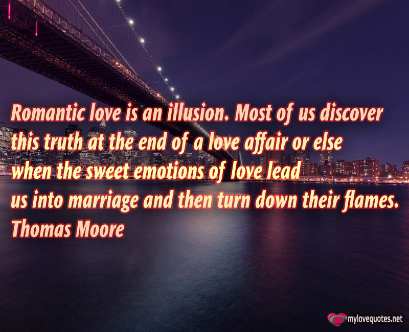 love is an illusion