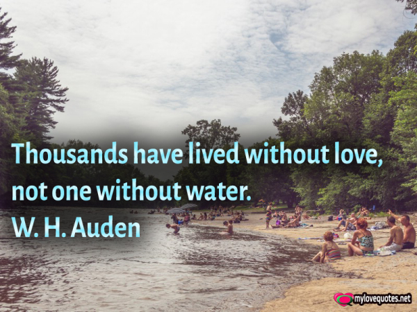 thousands have lived without love