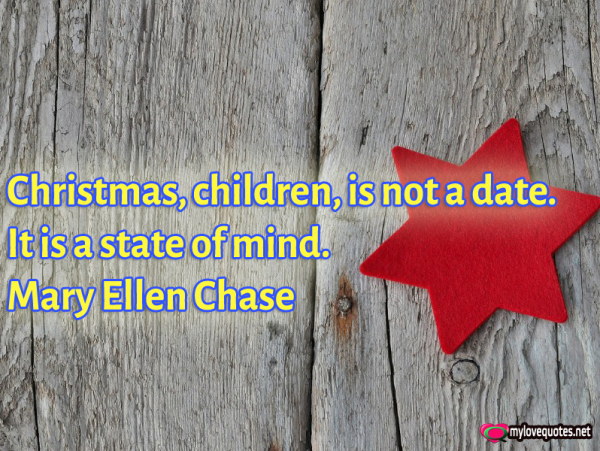 christmas children is not a date it is a state of mind