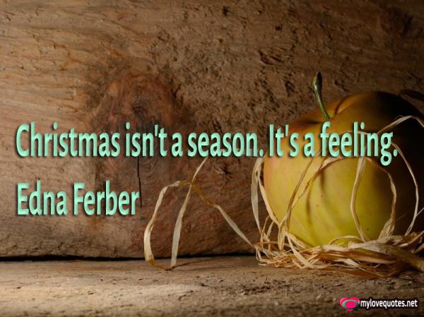 christmas isn't a season