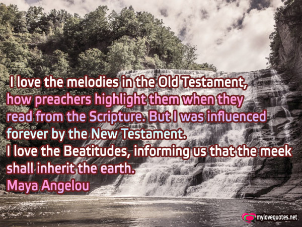 i love the melodies in the old testament how preachers highligh them when they read from the scripture