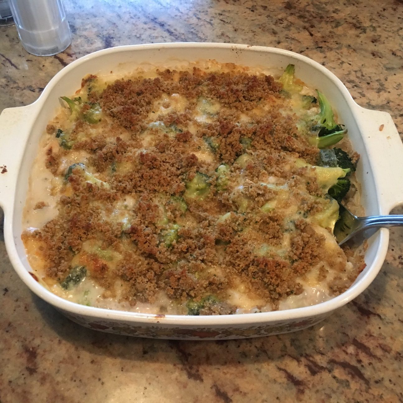Broccoli Chicken Casserole via @susanmylovingoven.com