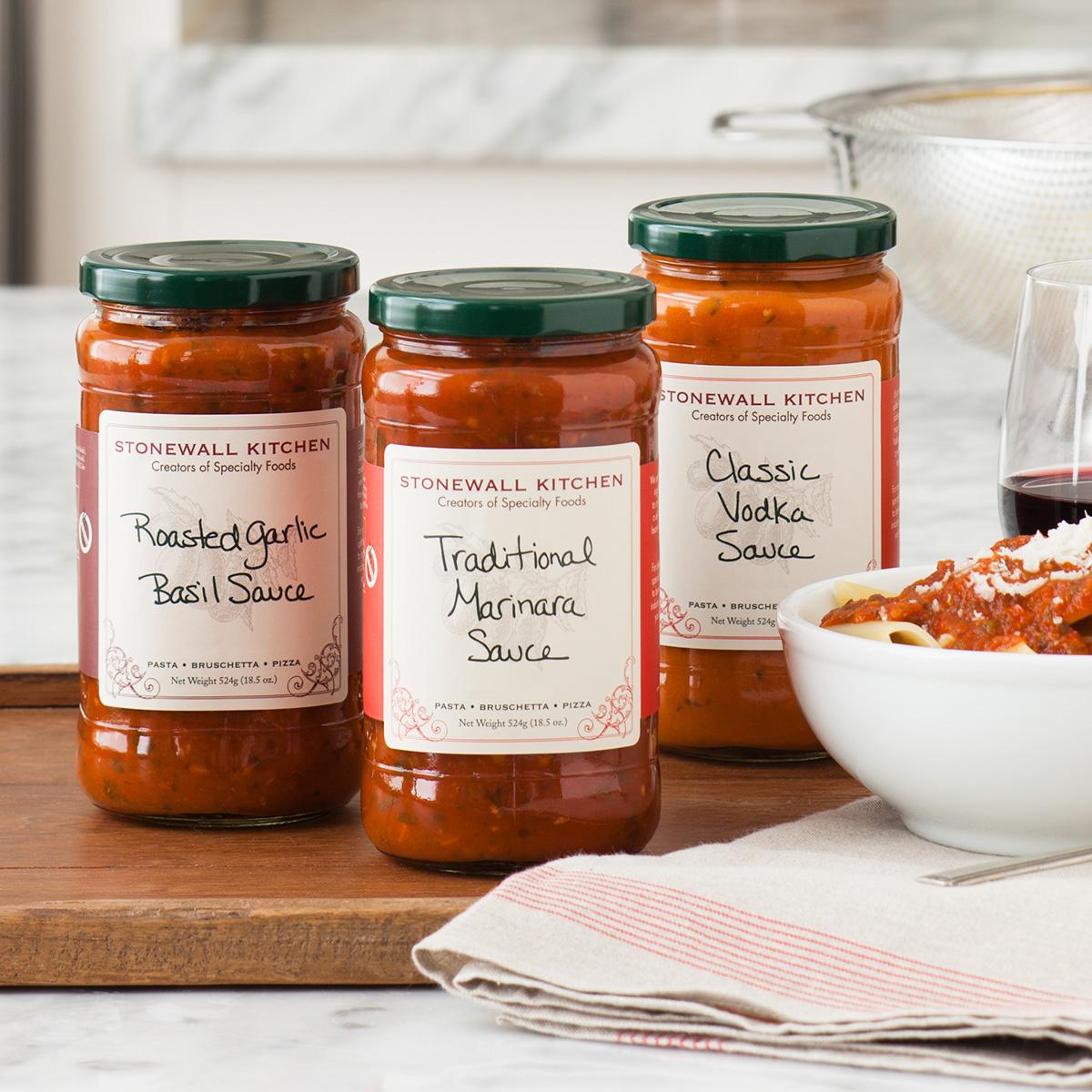 Pasta Sauce Collection via @susanmylovingoven.com