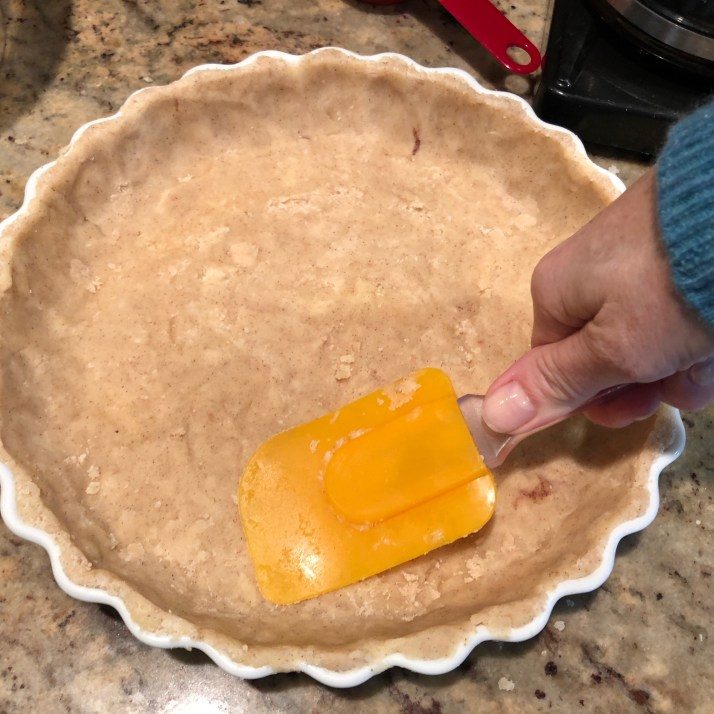 Press dough into tart pan