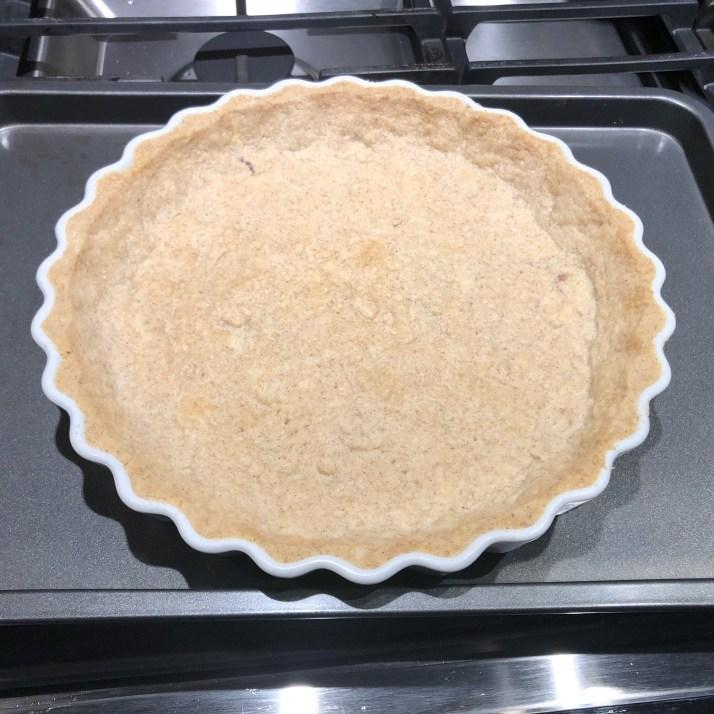 baked tart shell