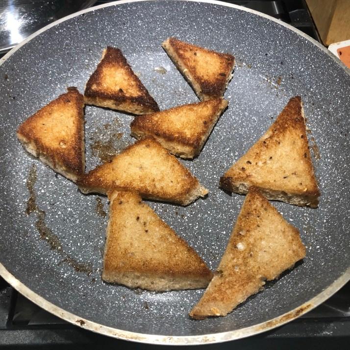 Crispy Toasts