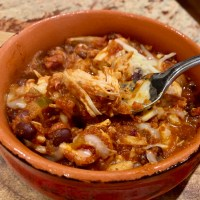 Rotisserie Chicken Chili Recipe
