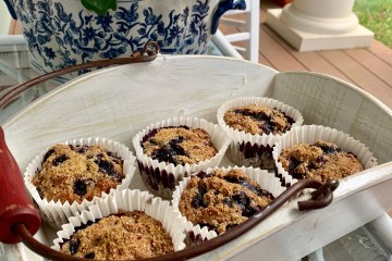 Heart Healthy Blueberry Muffins