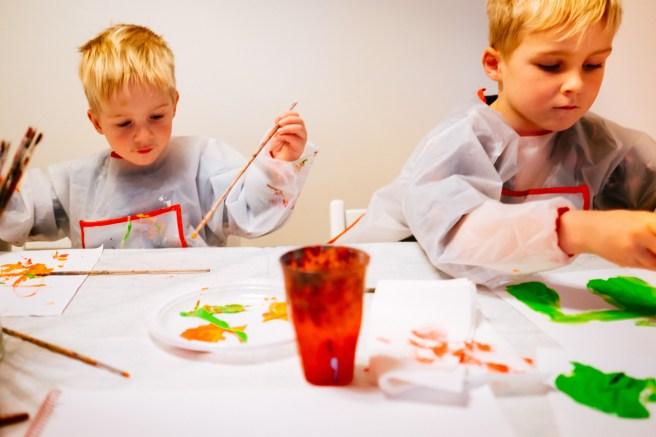Samen schilderen