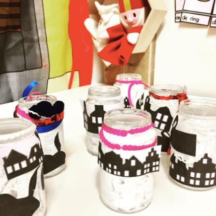 Sinterklaas potjes decoreren