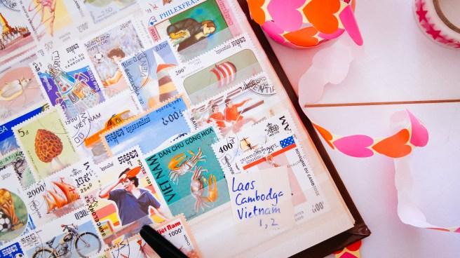 Postzegelboek