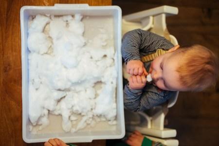 Baby sneeuw