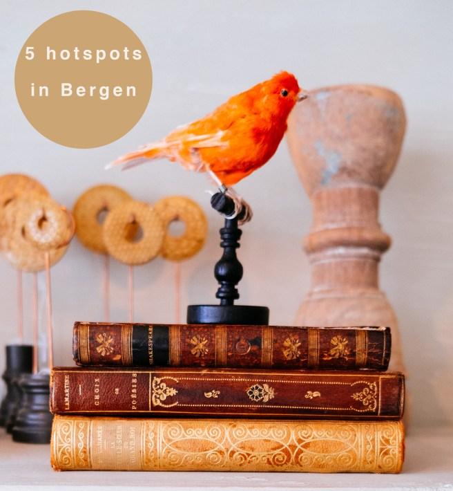 5 hotspots in Bergen