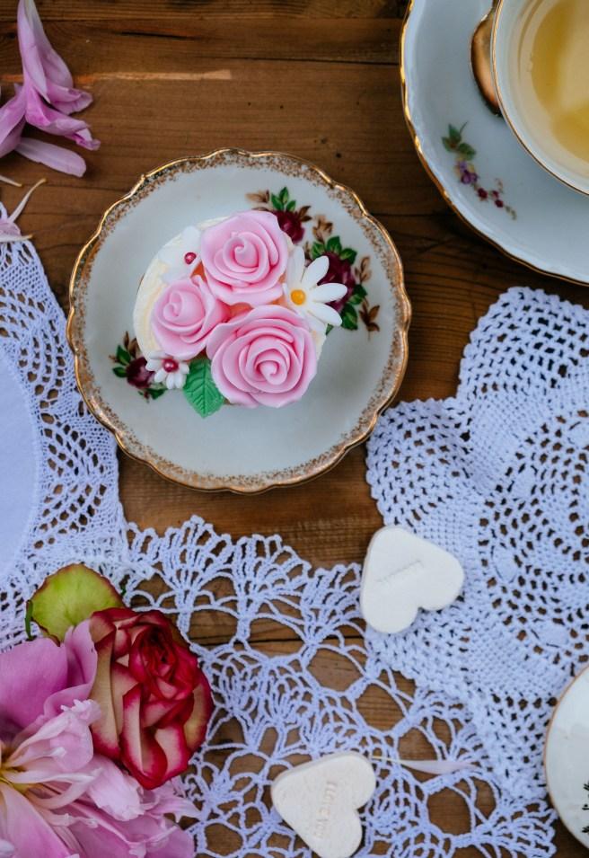 gebak roze
