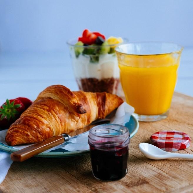 food fotograaf voor ontbijt