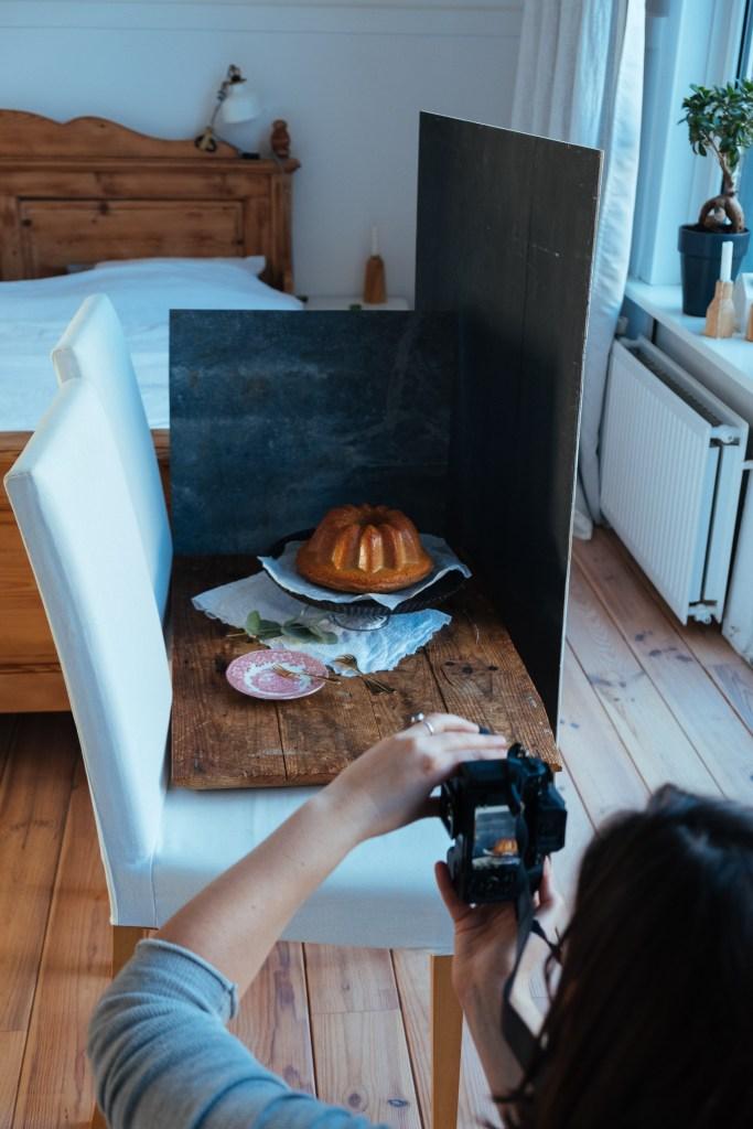 achter de schermen bij food fotografie
