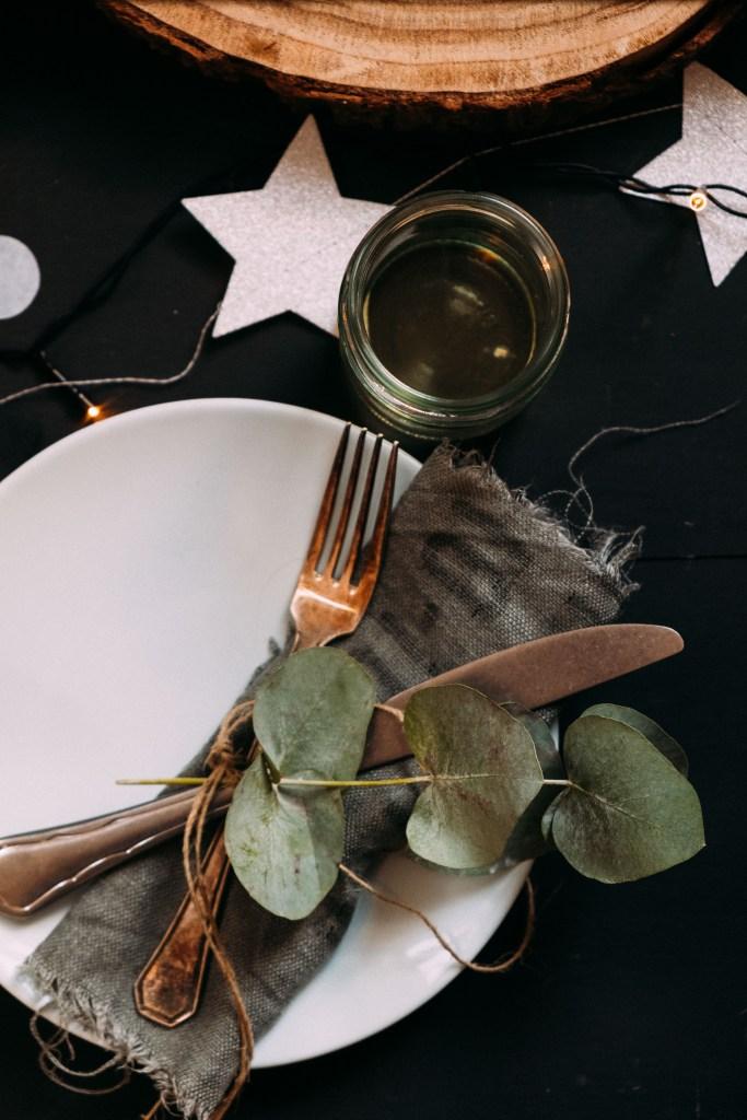 tafel styling kerstmis