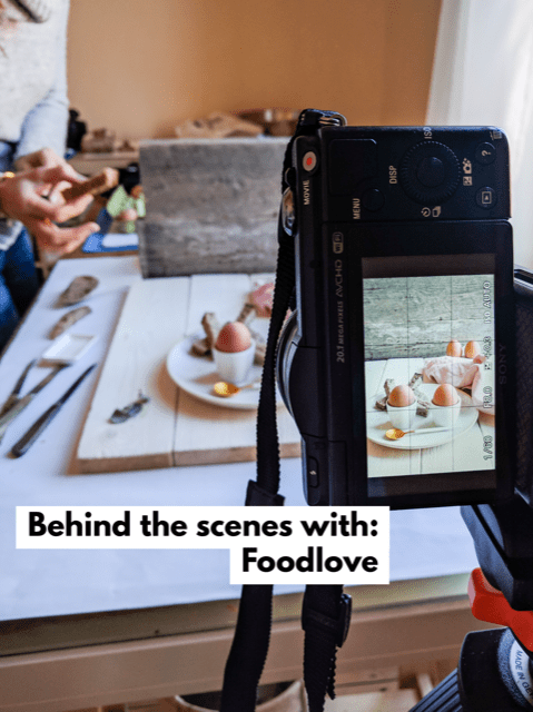 Mylucie: behind the scenes with Foodblog