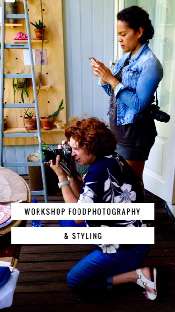 workshop food fotografie en styling voor foodbloggers
