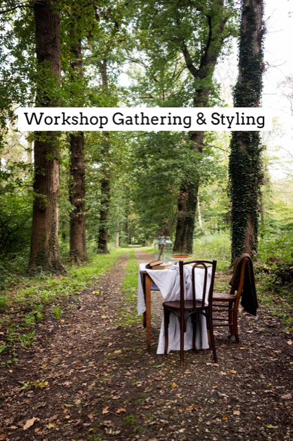 Workshop Gathering and Styling- Mylucie.com