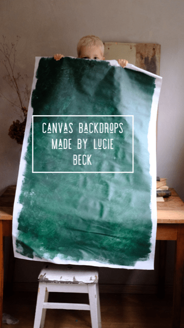 canvas backdrops