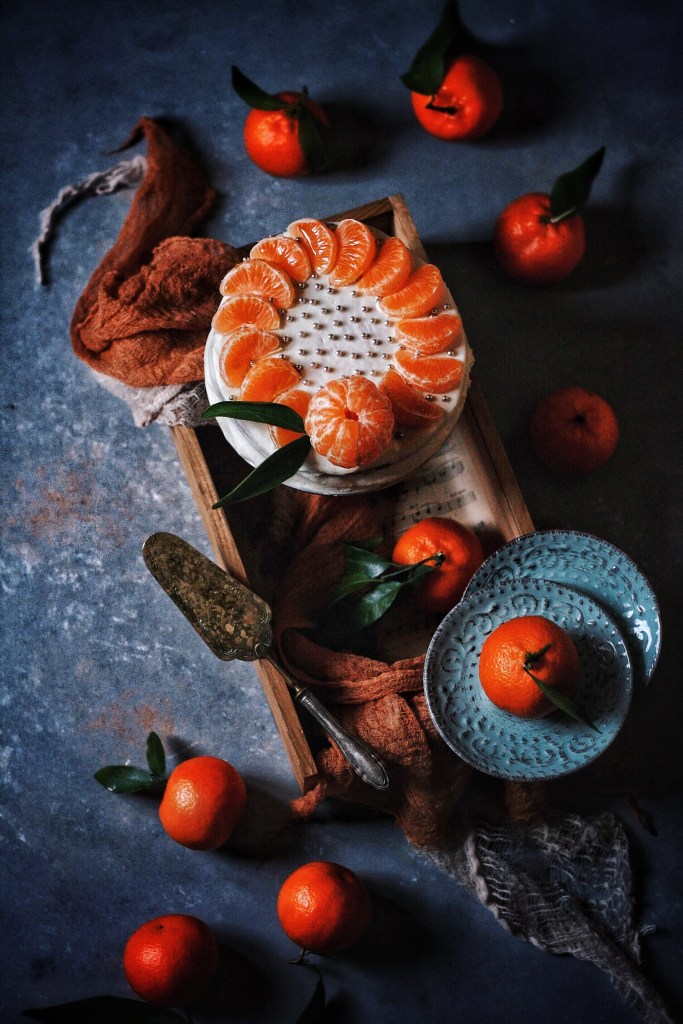 Mandarins Cake