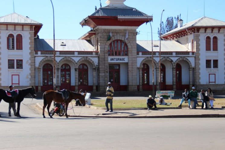 La stazione ferroviaria di Antsirabe