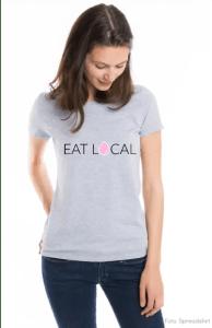 My Maisie Mockup Spreadshirt Eat Local Stillen