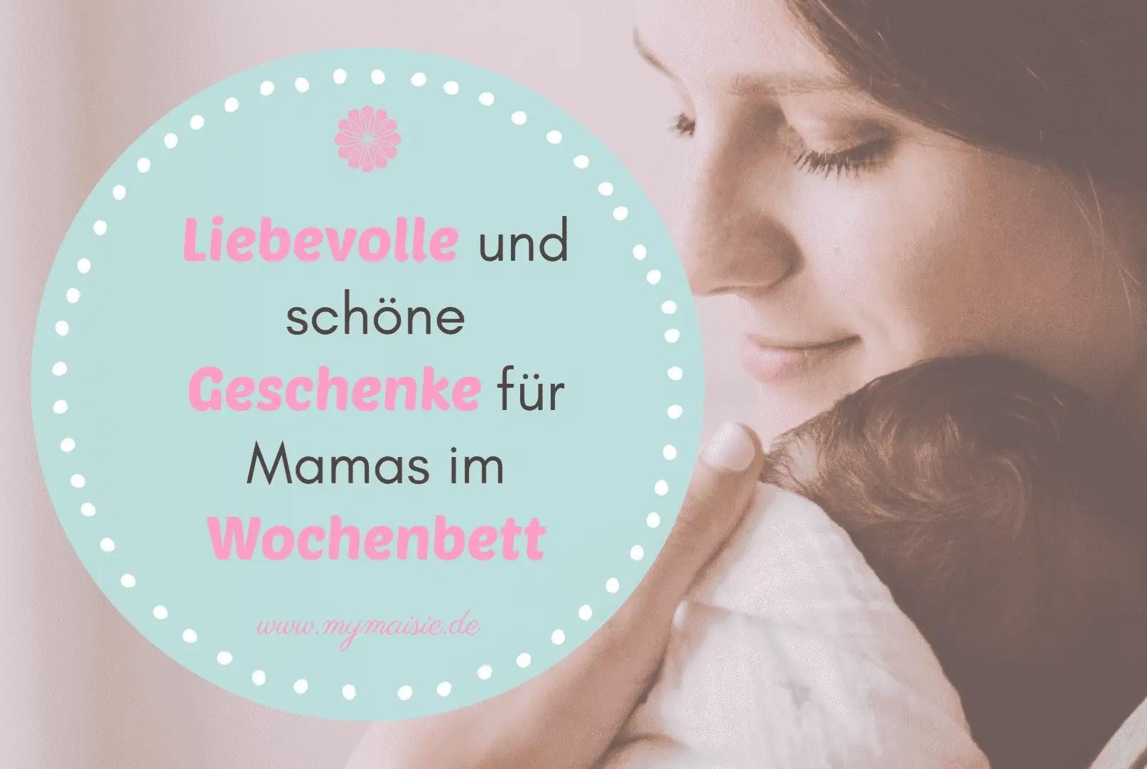 My Maisie Cover Wochenbett Geschenke für Mamas Geschenkidee