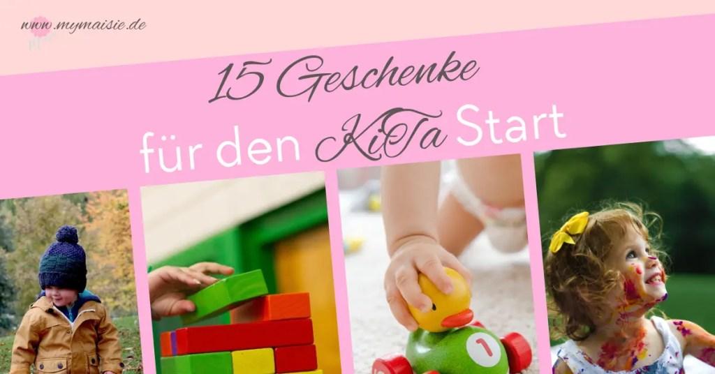 Geschenkidee Geschenke Kindergarten Kita Start