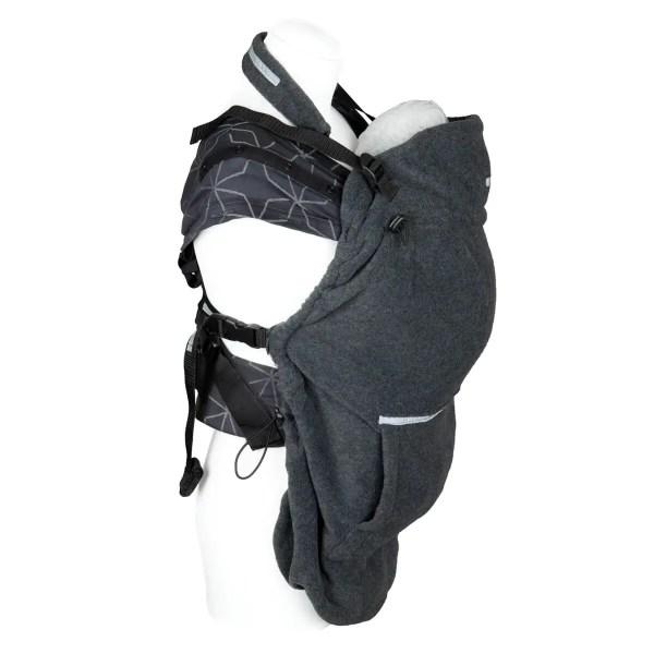 Tragecover - Fleece-Cover Basic anthrazit