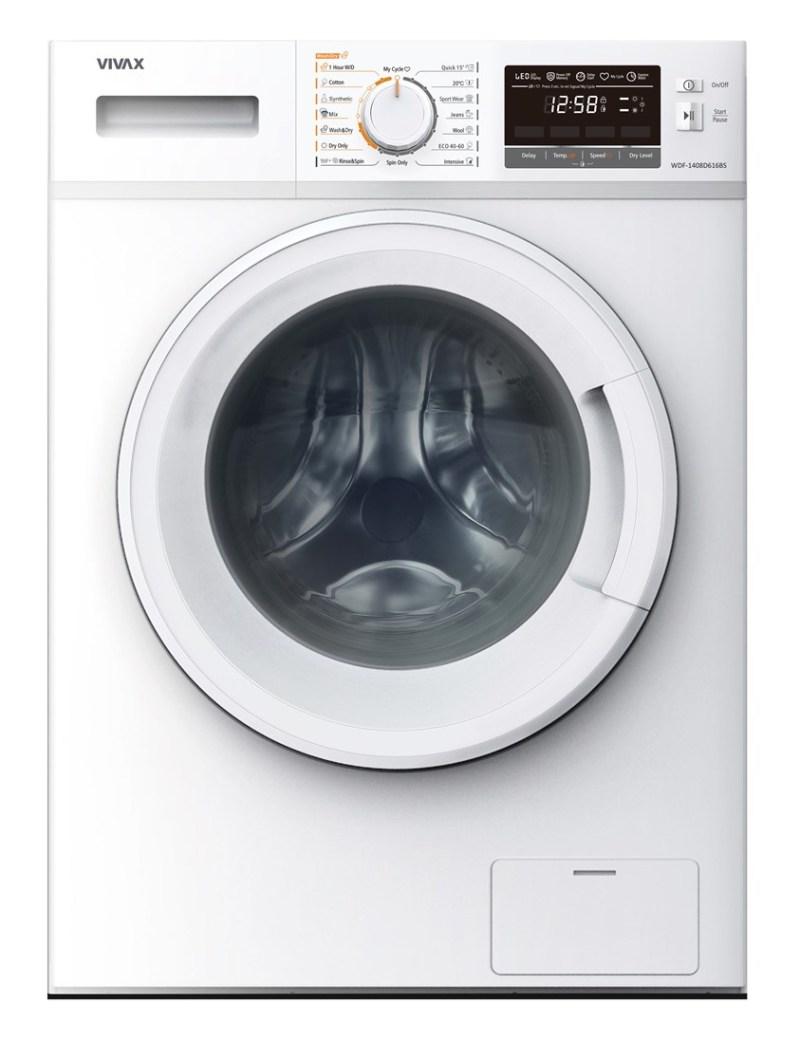 VIVAX Машина за перење и сушење WDF-1408D616BS