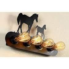 Декоративна ѕидна ламба Iron Horse од Тесла Лед