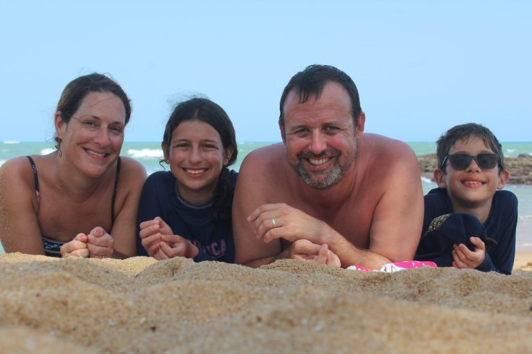 Our family after living as expats in Accra Ghana for the last five years.