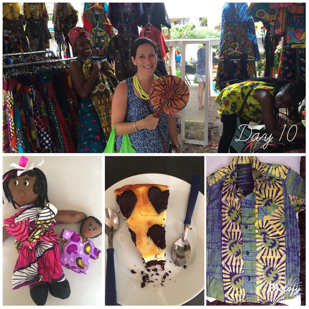 Expat life in Accra Ghana - shopping for gifts