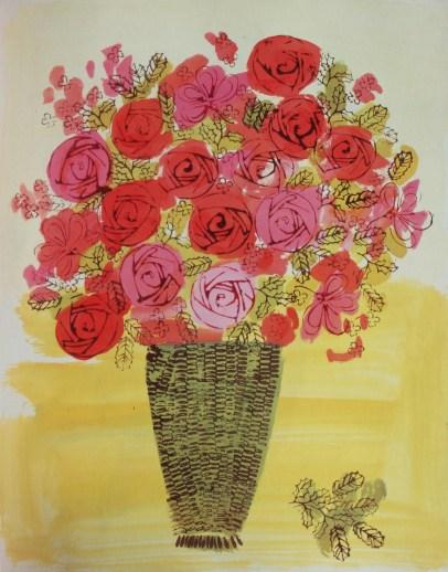 Basket of Flowers, c