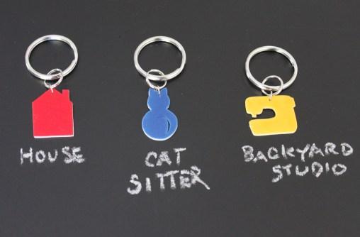 mml household key ring set