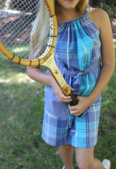 mml pillowcase dress racket
