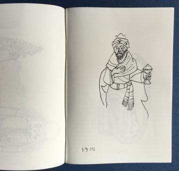 mml stone paper sketch