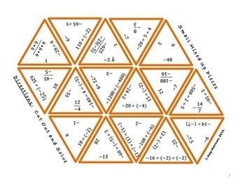 Dividing Integers Puzzle