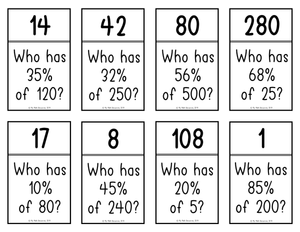 Percent Of A Number I Have Who Has Game With All Whole Numbers