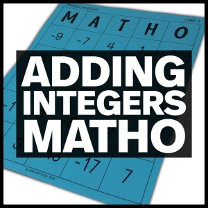 adding integers matho