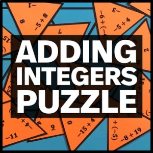 Adding Integers Puzzle