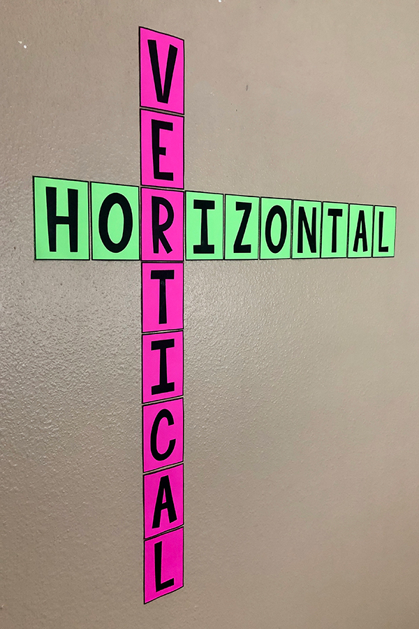 These simple horizontal and vertical posters are a cute addition to ANY math classroom. Wrap them around the corner of your whiteboard or bulletin board and they hardly take up any space at all.