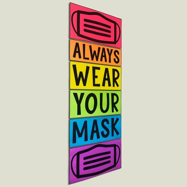 Please Wear Your Mask Poster