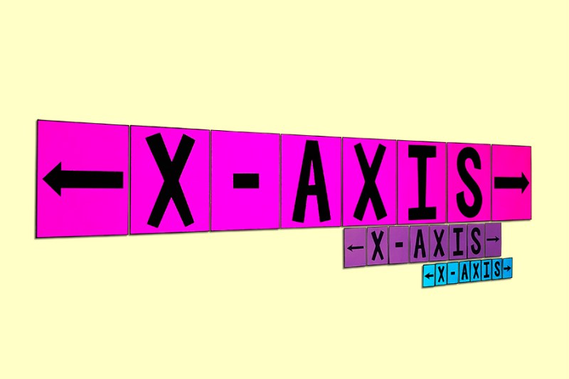 This bulletin board poster will help your class remember the difference between the X-Axis and Y-Axis and will look GREAT on your wall!
